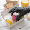 Nitrile glove black 1