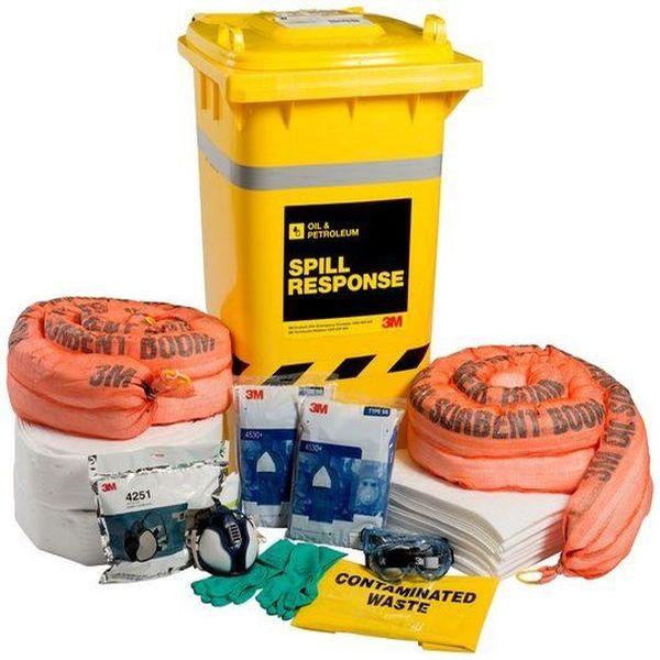 Bộ Ứng Cứu Sự Cố 3M™ Oil & Petroleum Spill Kit-OSRK-190 AT010575143