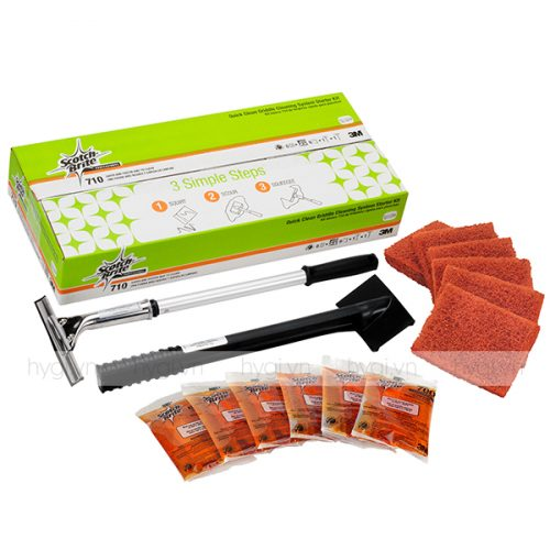 Bộ Dụng Cụ Vệ Sinh Bếp Phẳng Scotch-Brite™ Griddle Starter Kit 710