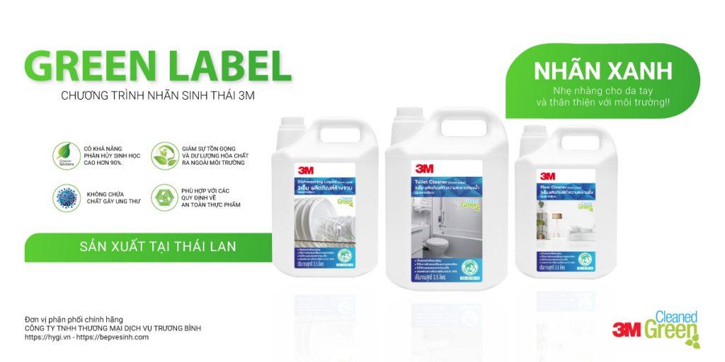 3M Green label
