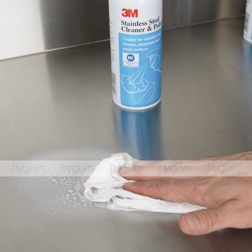 Dung Dịch Tẩy Rửa 3M™ Aerosol Stainless Steel Cleaner & Polish 283g